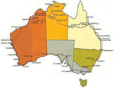 Drive around Australia