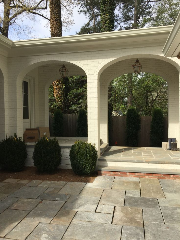 Top 25 best breezeway ideas on pinterest covered for Brick carport designs
