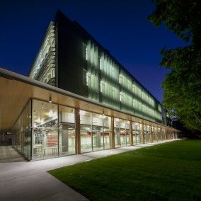 wood canopy The new Earth Sciences Building underlies UBC's commitment to science education