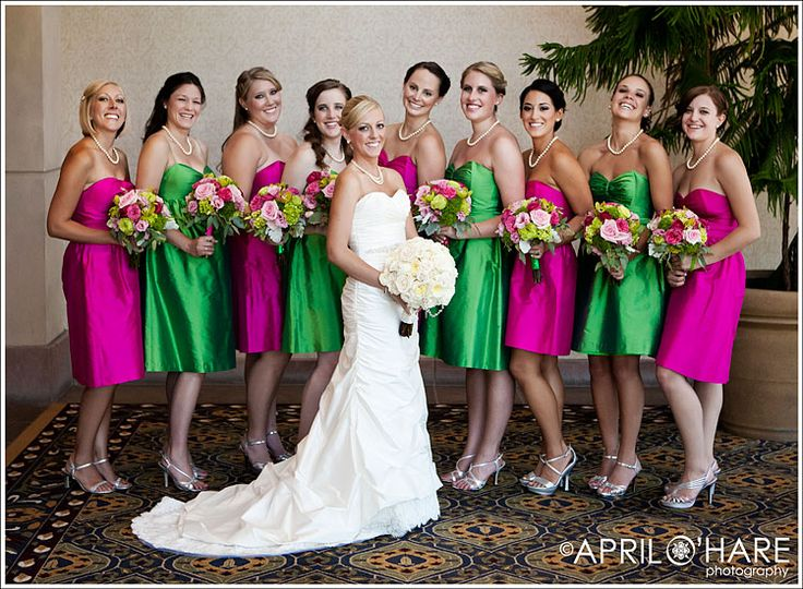 1000  images about Green &amp Pink Wedding Theme on Pinterest