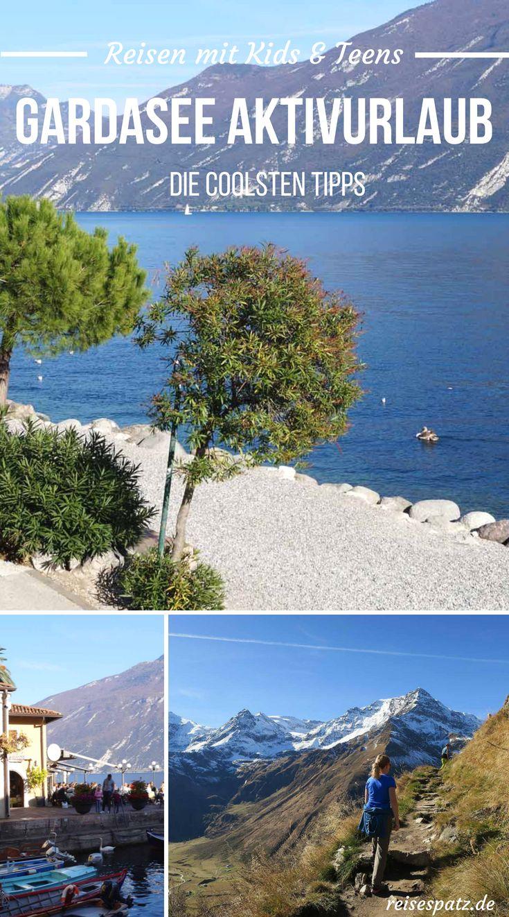 Gardasee Urlaub mit Kindern und Teenagern. Alle Ga…