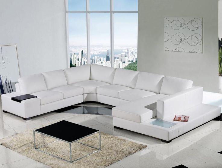 Cool All White Leather Sofa Beautiful All White Leather Sofa 53