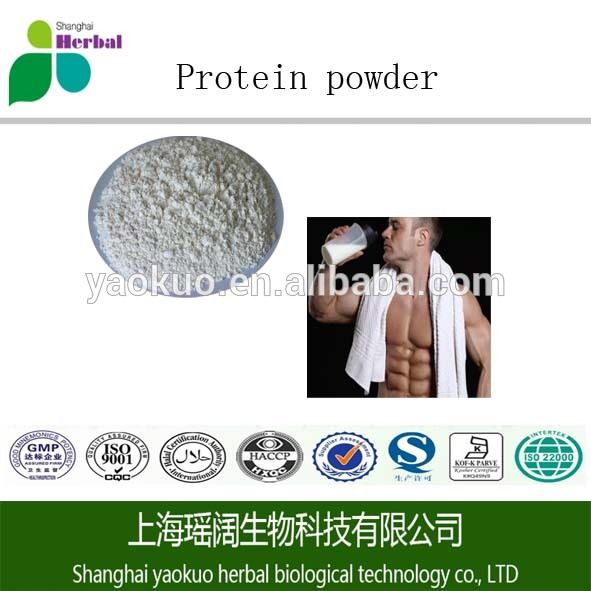 Isolate organic pure Whey Protein powder