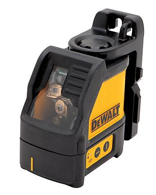 The Dewalt DW088K Self-Leveling Line Laser is great for cabinet installation, chair rail installation, electrical outlet installation, interior trim carpentry and acoustical/drop ceilings. It includes a build-in magnetic pivot bracket that mount easily on metal surfaces. The overmolded housing helps maintain calibration under jobsite conditions. It is a 1-button operation and control panel for ease of use. The DW087K includes: self-leveling laser line, (3) AA batteries for 20+ hours run-...