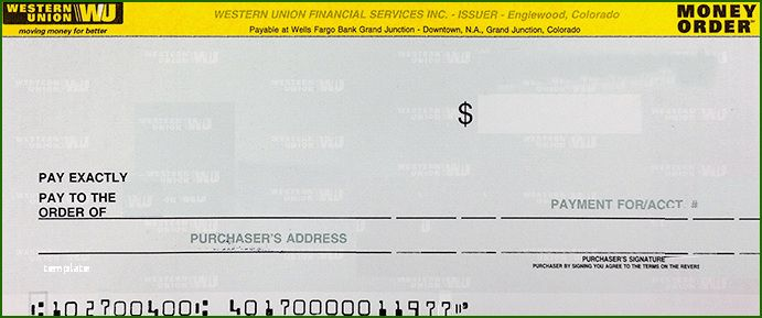 15 Foolproof Western Union Money Order Template That Will Wow You Money Template Western Union Money Order