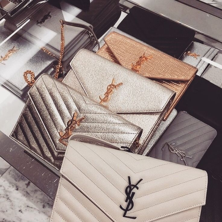 One day I will own one of these little babies - YSL clutch - unique purses and bags, big bags, fashion bags *ad