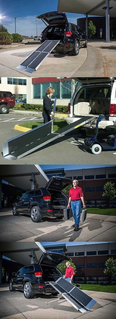 Access Ramps: 6 Foot Trifold Portable Wheelchair Ramps By Ez Access Nib Free Shipping BUY IT NOW ONLY: $249.95