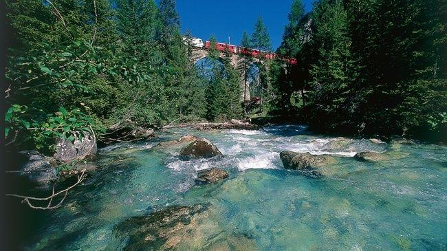 Albula trail Preda-Bergun Switzerland