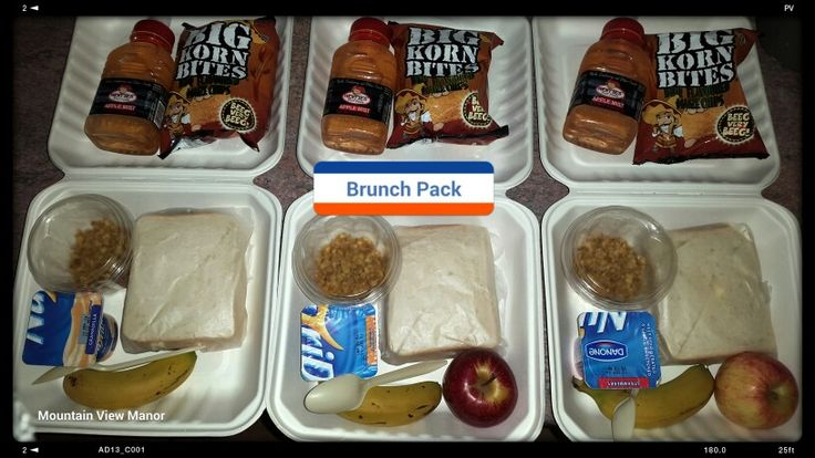 Brunch Pack for #guests at Mountain View Manor #guesthouse.  We offer various # catering options. # healthnut meals @MtViewManor
