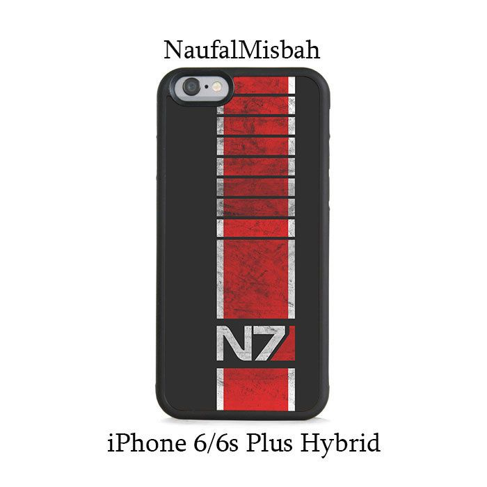 N7 Mass Effect iPhone 6/6s PLUS HYBRID Case Cover