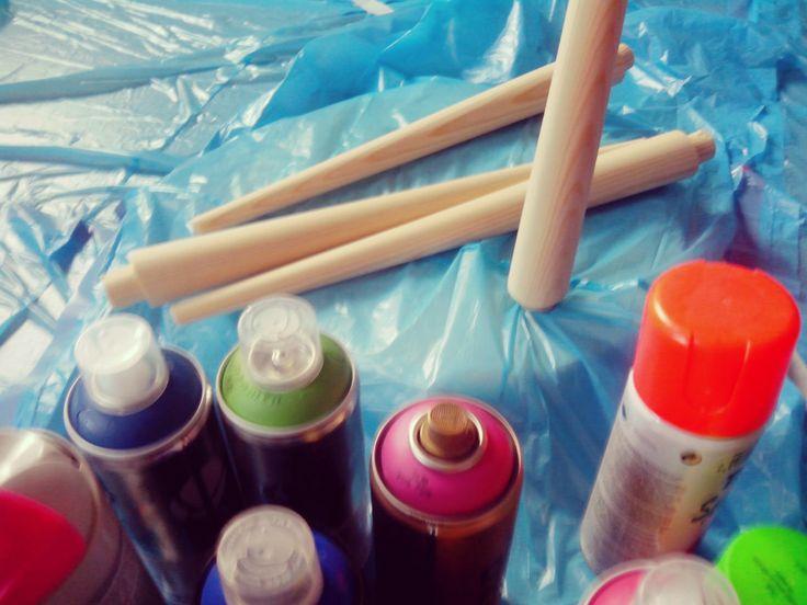 ¡Ya hemos escogido los colores flúor de pintura en Spray!