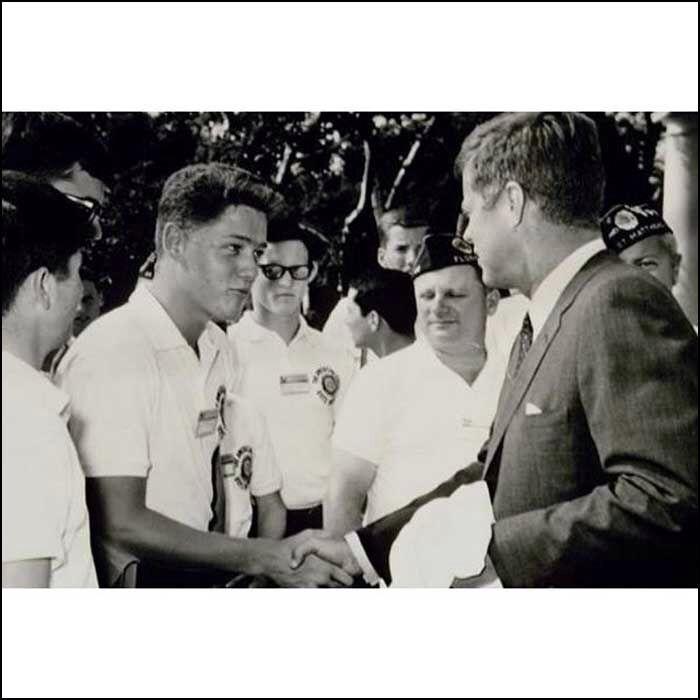 Clinton meets Kennedy