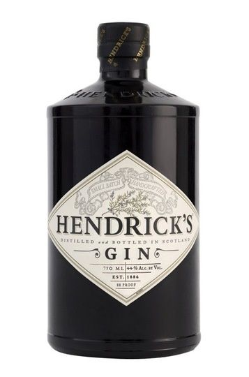 Hendrick's Gin die-cut labels
