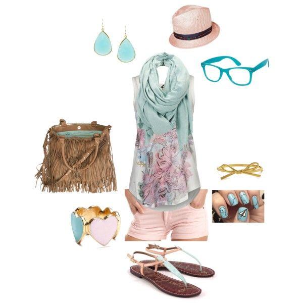 Summer Pastels - cute look
