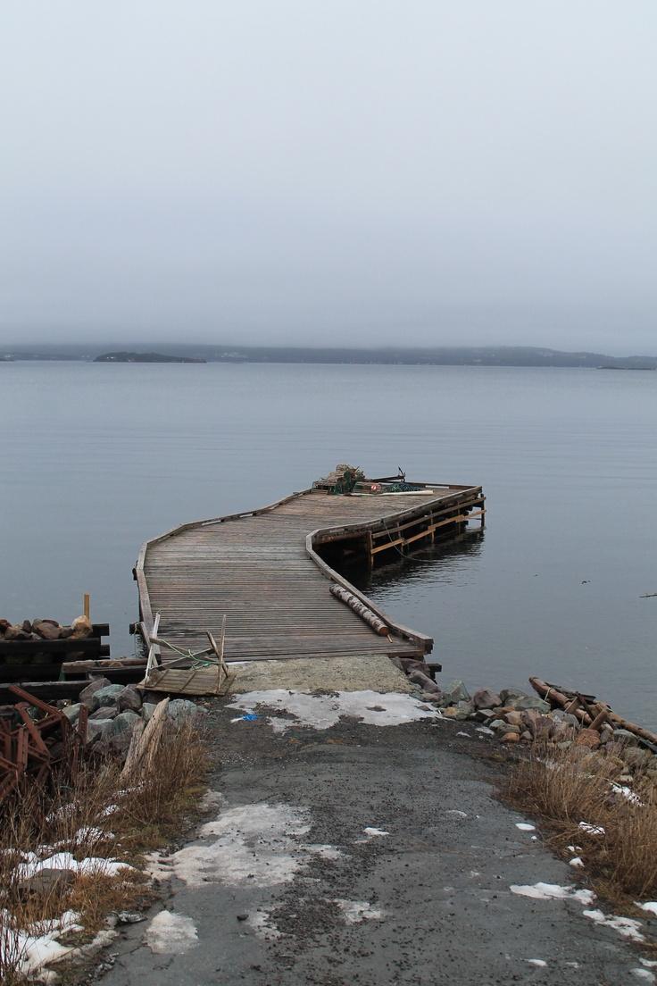 wharf in dildo, newfoundland