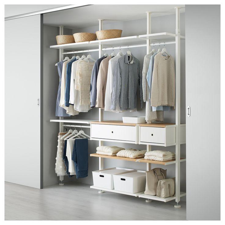 17 best ideas about clothes rail ikea on pinterest waredrobe rails ikea pax wardrobe and. Black Bedroom Furniture Sets. Home Design Ideas