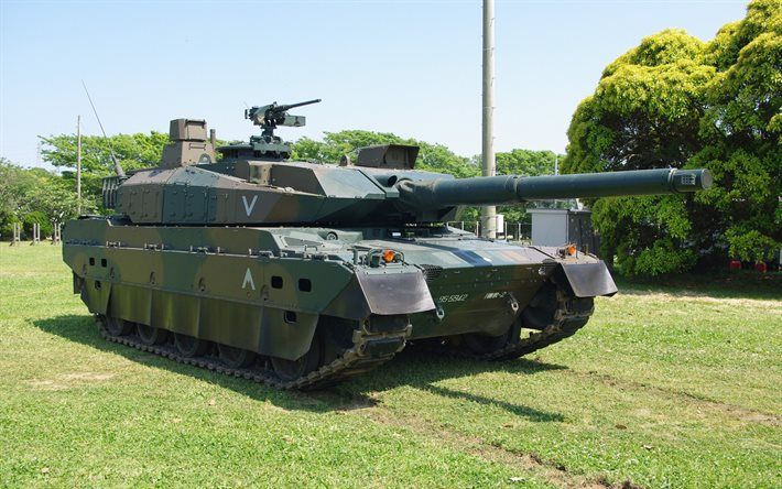 Japanese tank, Type 10, Japanese army, modern armored vehicles, Mitsubishi Heavy Industries