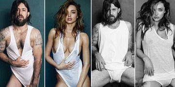 GQ-Shooting Parodie: Australier posiert als Miranda Kerr