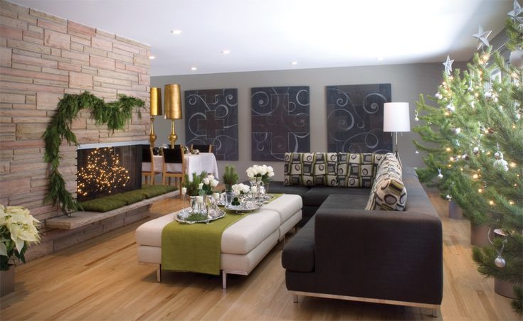 Earth tone living room