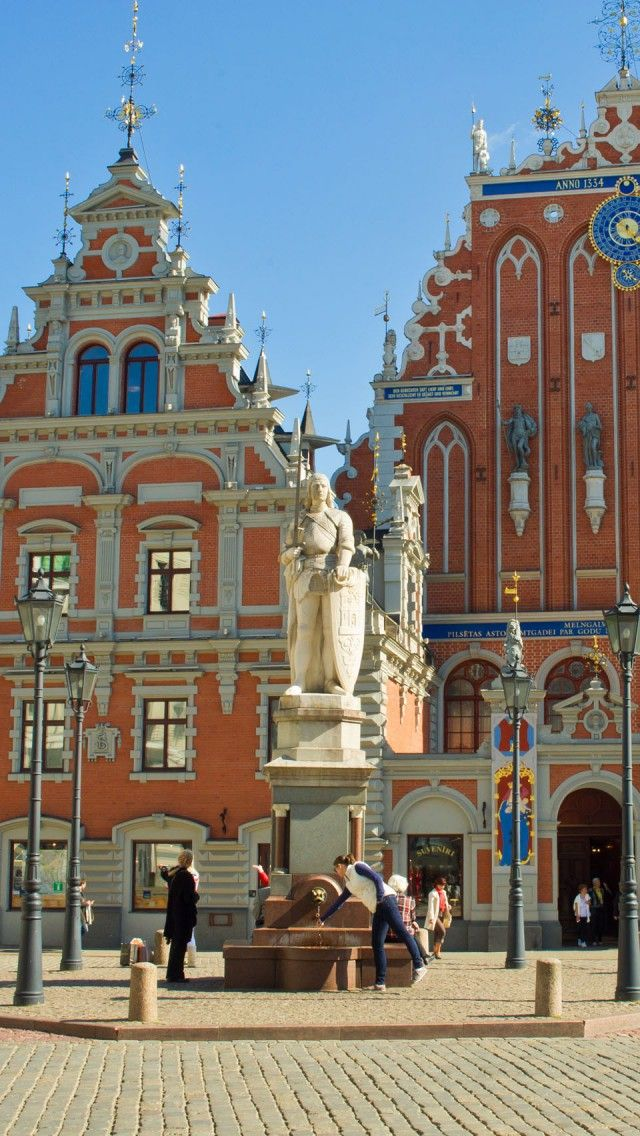 Blackheads House in Riga Old Town ~ Riga, Latvia