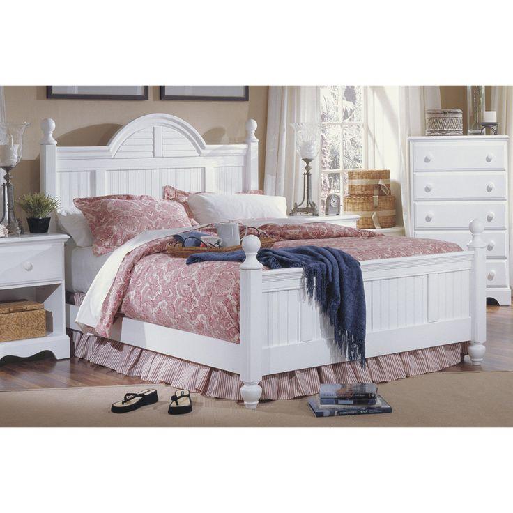 Carolina Furniture Works, Inc. Carolina Cottage Wood Headboard