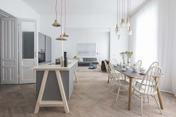 Apartment E&E | Destilat #openspace #scandinavian