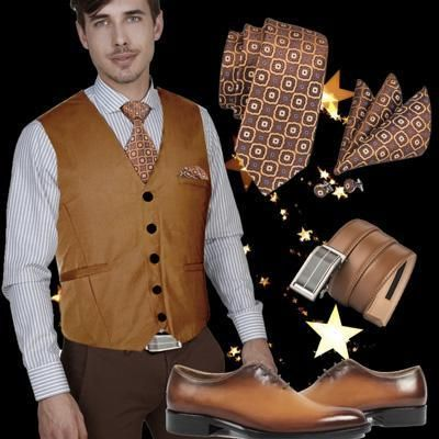 Run your Elegance 365 days a year! Elegance is a mindset Smart outfit with brown shoes - Trendy Tanios - Runit365 your Elegant Men Store  #belt #shirt #shoes #BundleAndSave #watch