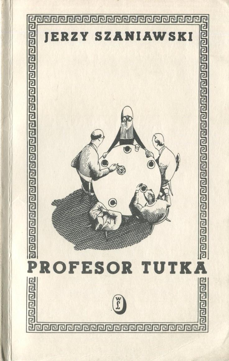 'Profesor Tutka', Kraków 1985, cover by Daniel Mróz.