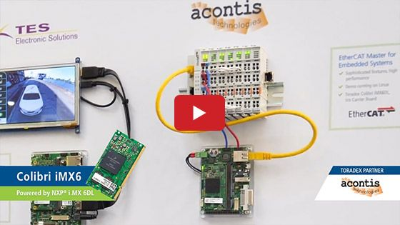 Interested in knowing how #acontis EtherCAT Software and Toradex