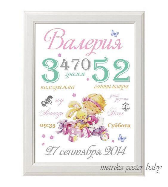 Постер для малыша POSTER BABY by Ekaterina   VK