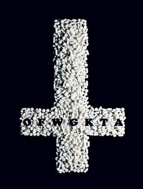 OFWGKTA upside down cross ~ pills | ODD FUTURE | Pinterest
