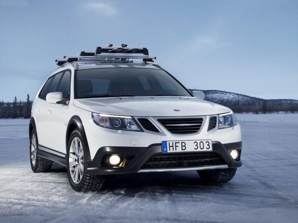 Saab 9-3x... sporty!