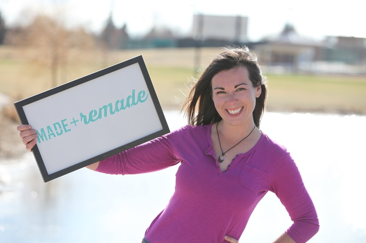 Kayleen McCabe is ready for Made + Remade! #maderemade ...  Kayleen McCabe ...