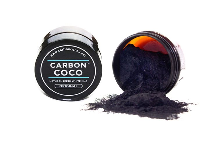 Review: How To Get White Teeth With Carbon Coco Activated Charcoal Tooth Polish, Toothbrush