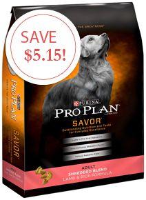 New Purina Coupon—Save $5.15 on Pro Plan Pet Food!