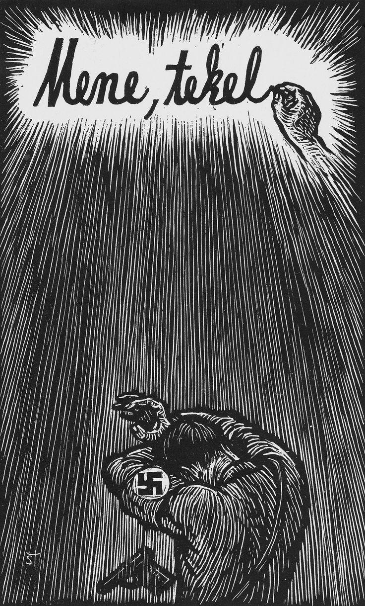 Karel Štika: Mene Tekel - Konec nacismu (End of Nazism), 1945