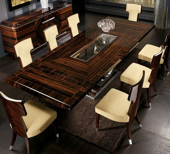 Tl furniture extendable dining table large dining table for Beautiful glass dining room tables