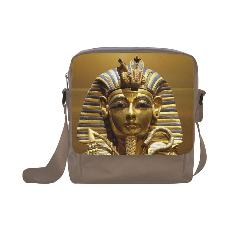 Egypt King Tut Crossbody Nylon Bag. FREE Shipping. #artsadd #bags #egypt