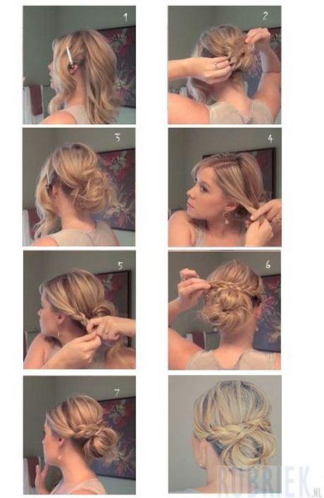 Hoe kort haar opsteken