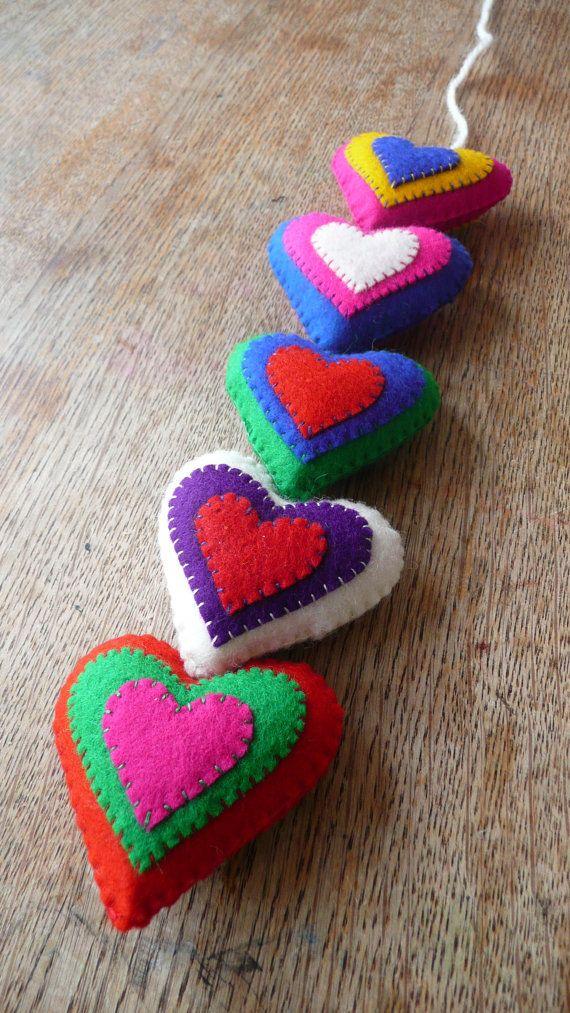 garland hearts!