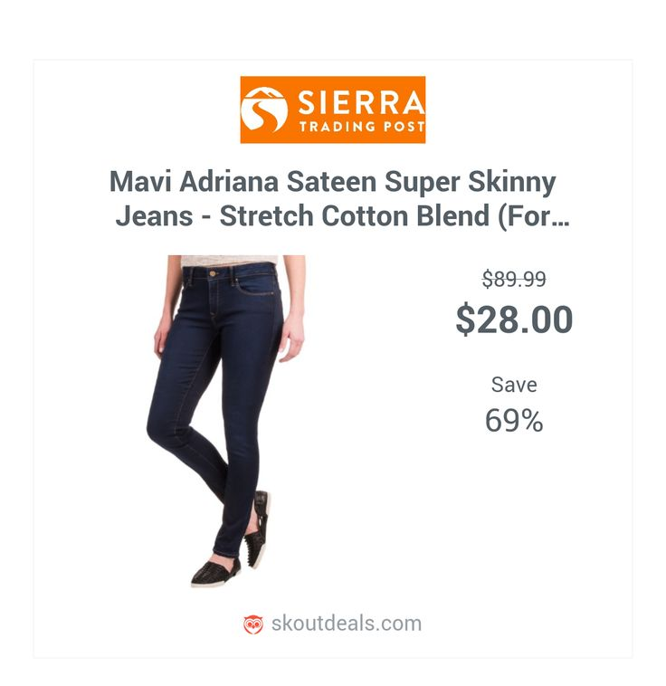Enhance your figure and rock your curves in Mavi's Adriana Sateen Super Skinny jeans. They're made from an above-average denim blend infused with stretch for ultimate, moveable comfort while creating a flatteringly sleek silhouette.