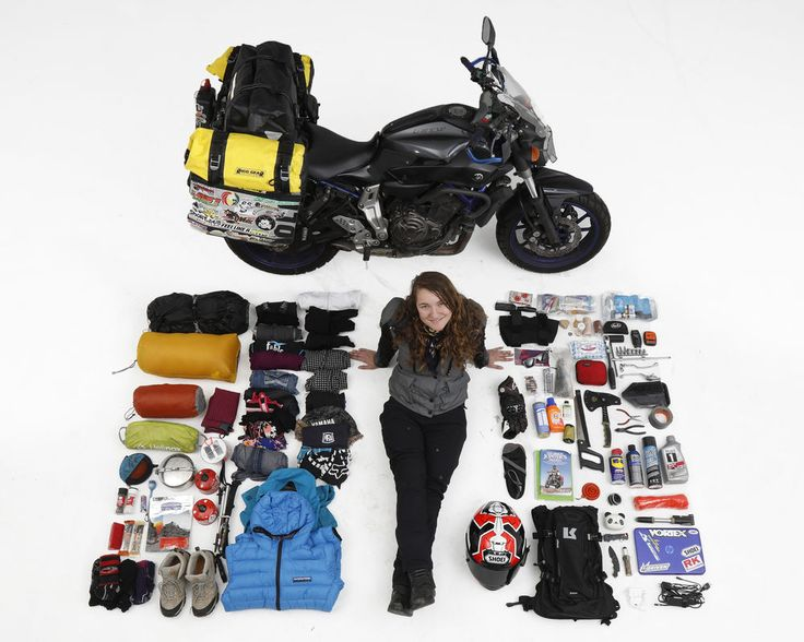 Girl Meets World on FZ-07 Motorcycle Gear Essentials Jacket pants etc