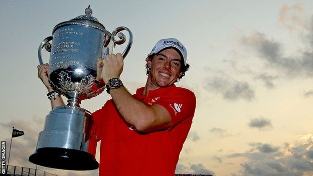 Rory McIlroy - Lands PGA Tour Player of the year title 2012
