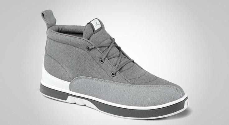 Jordan XII Dress Shoes Cool Grey