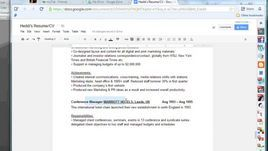 How to Make a Resume Online With Google Docs