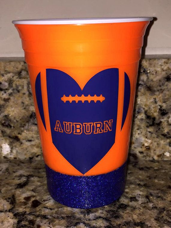 Auburn football cup Football cup game day by ...