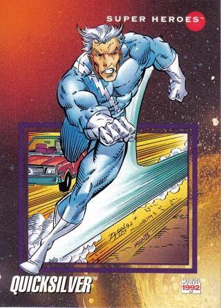 Quicksilver Comics | Other Board Games & Cards - ### 92 Marvel Comics (Quicksilver) Super ...