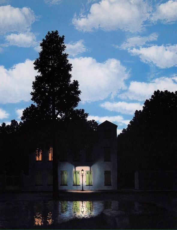 'The dominion of lights'  R. #Magritte ~  @ipnotic @AndrewSacks13  One of my favourites  #Goodnight #ArtLovers