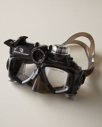 Scuba diving mask cameral - That's AWESOME!!