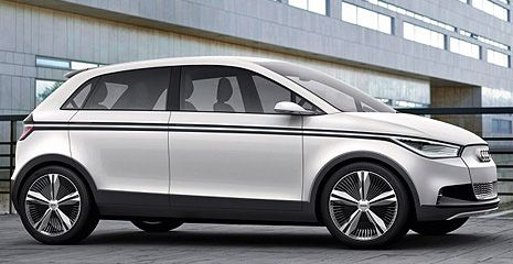 Audi A2 könnte Comeback als Hybrid- oder Elektroauto feiern